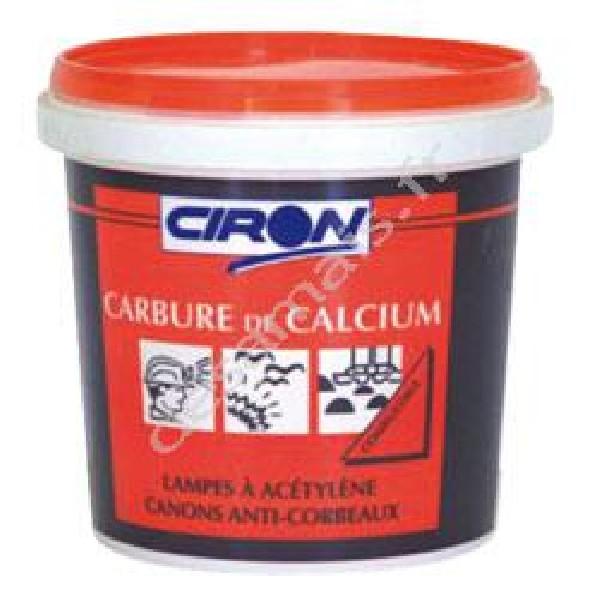 CARBURE DE CALCIUM REPULSIF TAUPES EFFICACE<br /> POT DE 500 GRS 10.50